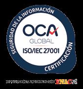 Certificado UNE - ISO/IEC 27001
